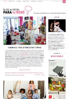 Blog de moda infantil y puericultura